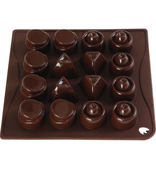 PAVONIDEA MIX forma na czekoladowe pralinki, 16 wzorów /Btrzy