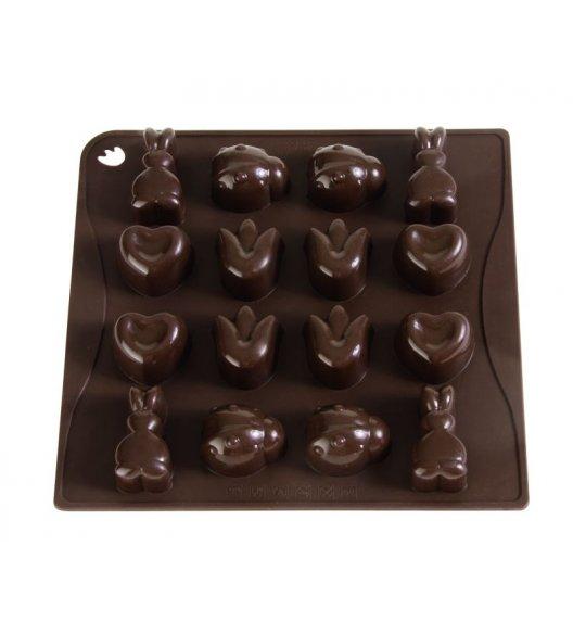 PAVONIDEA SPRING forma na czekoladowe pralinki, 16 czekoladek /Btrzy
