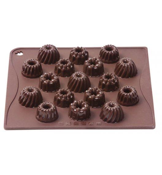 PAVONIDEA MINI BABECZKI forma na czekoladowe pralinki, 17 czekoladek /Btrzy
