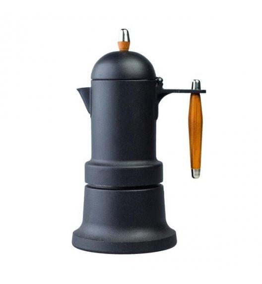 G.A.T. MINNI PLUS Kawiarka do zaparzania kawy ziarnistej i w kapsułkach 3TZ czarna 109603N / scapol