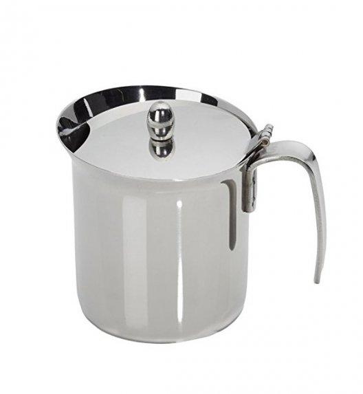 BIALETTI Dzbanek do mleka z pokrywką ze stali nierdzewnej 300 ml 1812 / scapol