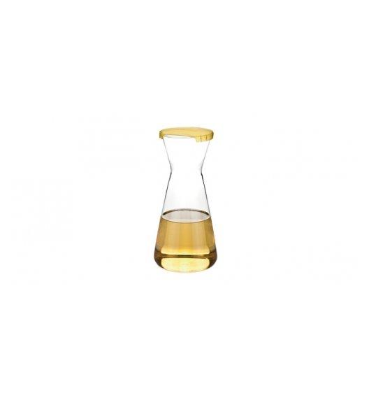 Tescoma Uno Vino karafka z wieczkiem 1 L, żółty, 695498.12