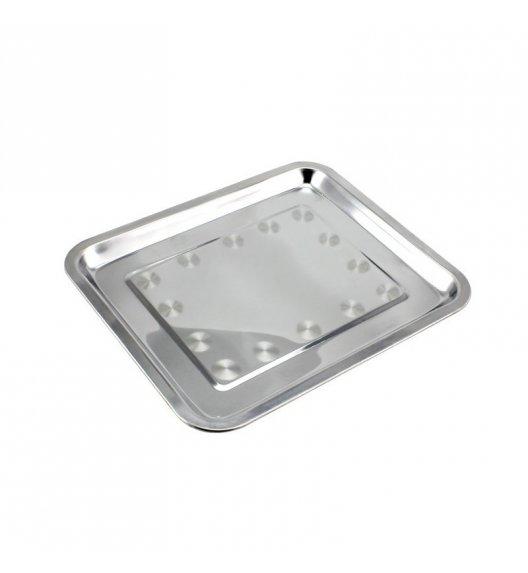 TADAR Taca gastronomiczna prostokątna, nierdzewna 40 x 30 cm