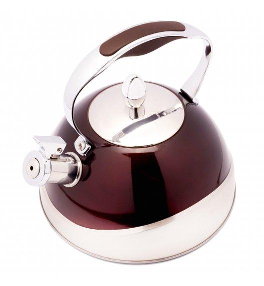 TADAR NUOVO Czajnik 3 l ze stali nierdzewnej / czekoladowy / indukcja