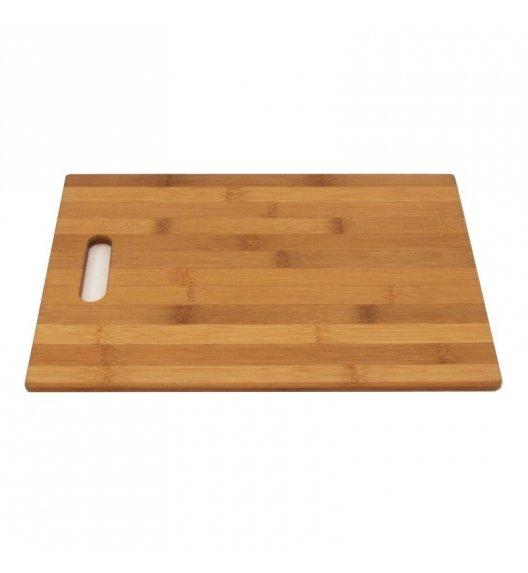 TADAR Deska do krojenia 35 x 25 x 1 cm / drewno bambusowe