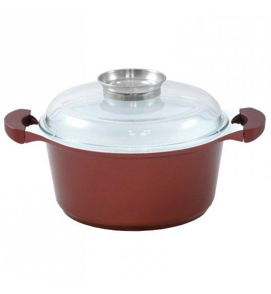 STARKE COBRE Garnek z powłoką ceramiczną Greblon® CK2 / 20 cm, 2,4 L / niemiecka jakość