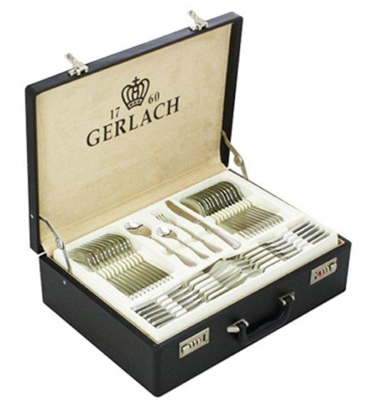 Gerlach Antica Sztućce Komplet 80 el walizka+dodatki / 12 osób / połysk