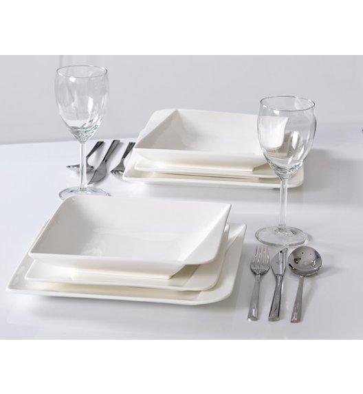 HOME DELUX QUATRE HD12051 Serwis obiadowy 18 elementów / 6 osób / porcelana / DELHAN