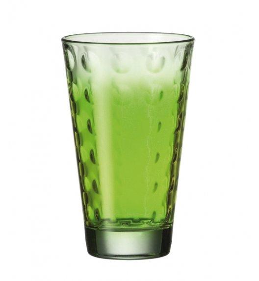 Wyprzedaż! Leonardo Optic Szklanka wysoka 300 ml cieniowana w kolorze zielonym.
