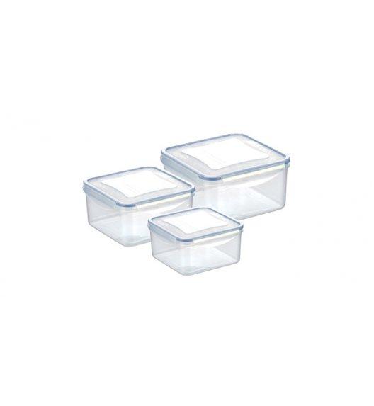 Komplet pojemników prostokątnych na żywność Tescoma Freshbox, 6 elementów. Zobacz film.