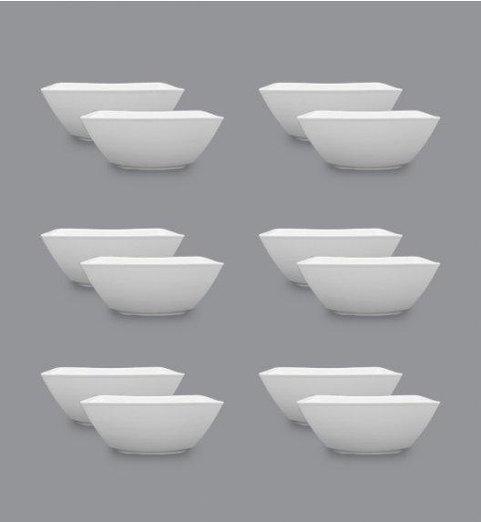 LUBIANA VICTORIA Komplet Salaterki 18 cm / 12 el / 12 os / porcelana