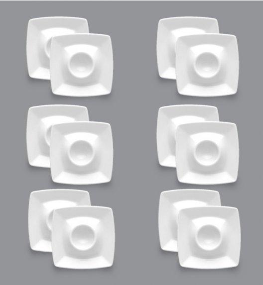 LUBIANA VICTORIA Komplet Spodki do jajek 11,5 cm / 12 el / 12 os / porcelana