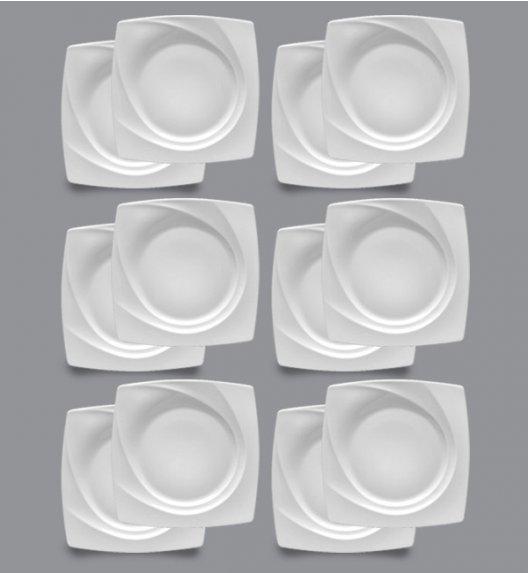 LUBIANA CELEBRATION Komplet Talerze deserowe 19 cm / 12 el / 12 os / porcelana