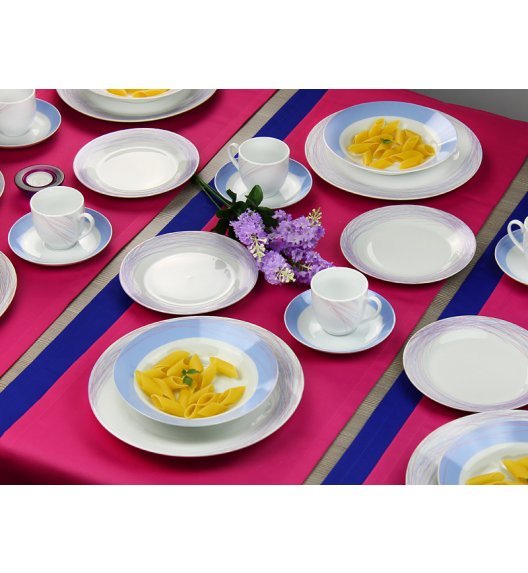 ARZBERG KATE Niemiecki serwis obiadowo-kawowy 60 el / 12 os / porcelana