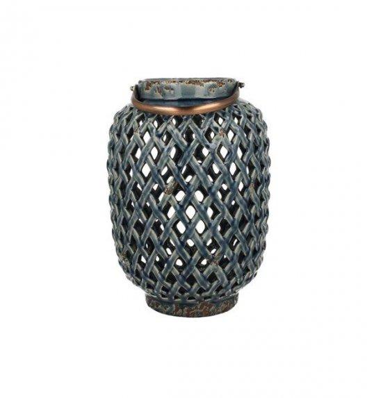 DUO Lampion ceramiczny 28,5cm z metalowym uchwytem. YSD104A