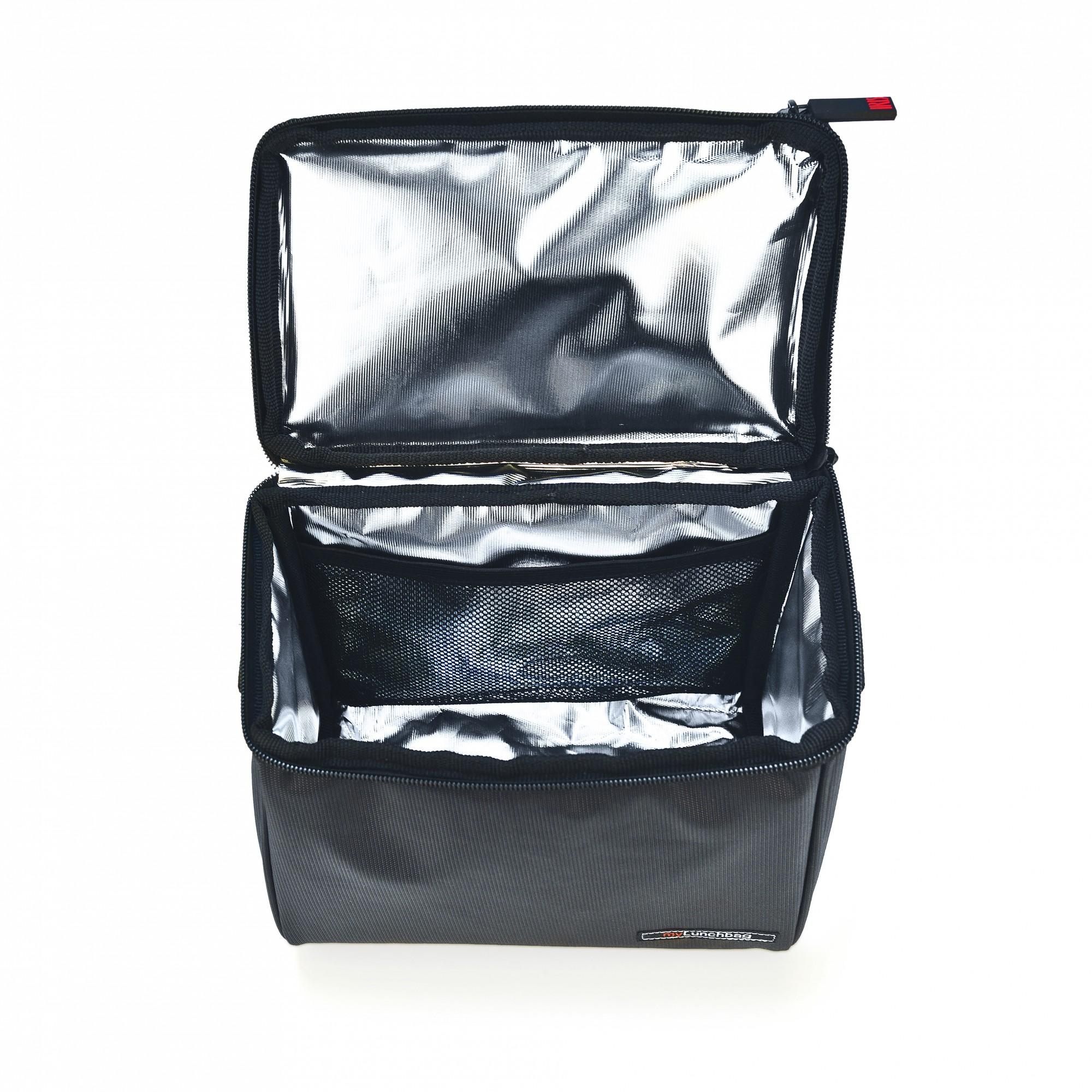 d7a6452ccfcc0 Iris Lunch bag OPTIMAL szara torba + 2 pojemniki i butelka / Btrzy ...