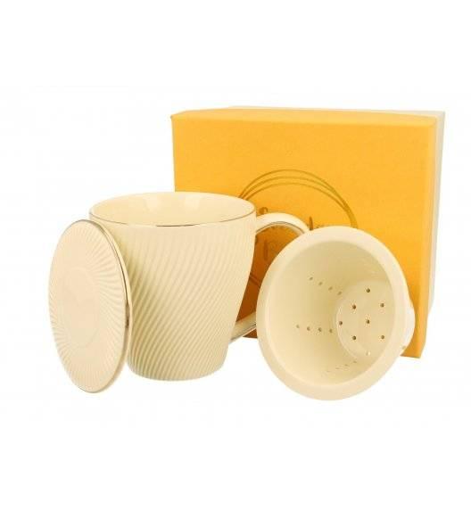 DUO ICE CREAM Kubek z zaparzaczem 430 ml / porcelana
