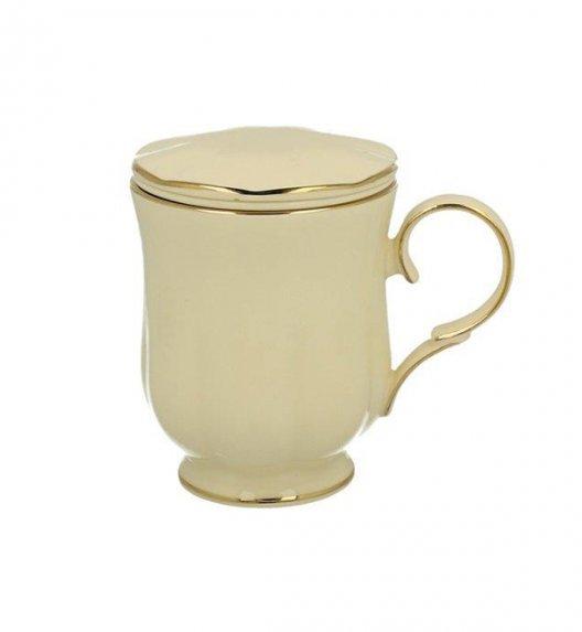 DUO CLARK Kubek z zaparzaczem 450 ml / porcelana