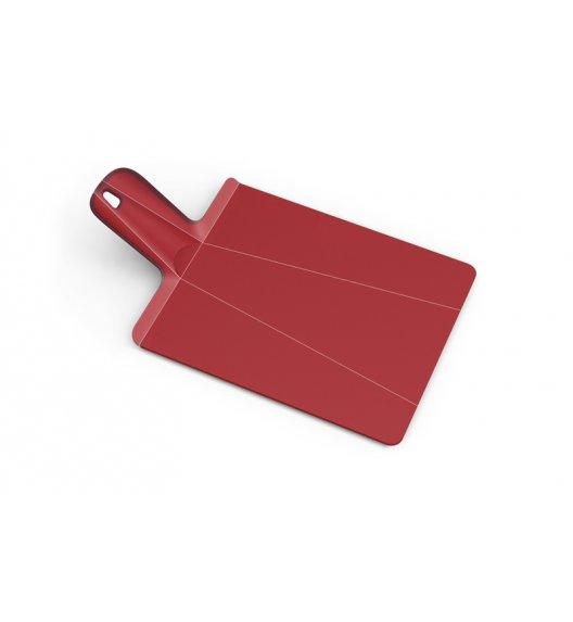 JOSEPH JOSEPH CHOP2TOP Mała deska do krojenia 38 x 21 cm / czerwona / tworzywo sztuczne / Btrzy