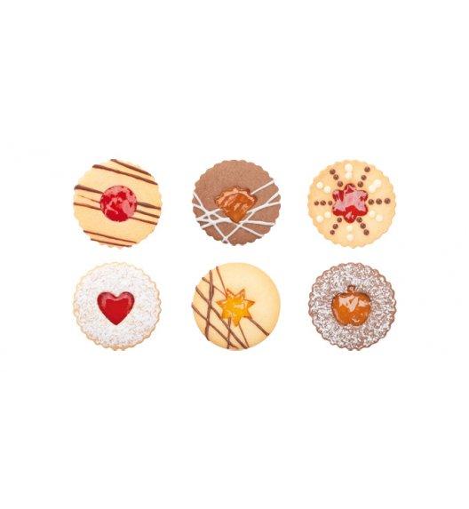 TESCOMA DELICIA Foremki do wykrawania kruchych ciastek tradycyjnych 8 szt. 630910.00