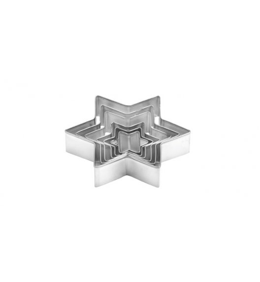 TESCOMA DELICIA Komplet 6 wykrawaczy w kształcie gwiazdki / 631634.00