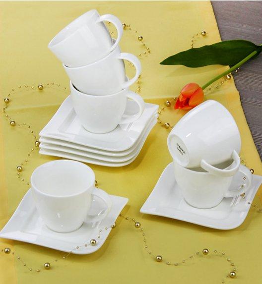 AMBITION FALA Serwis kawowy 12 elementów dla 6 osób / Porcelana / 61244