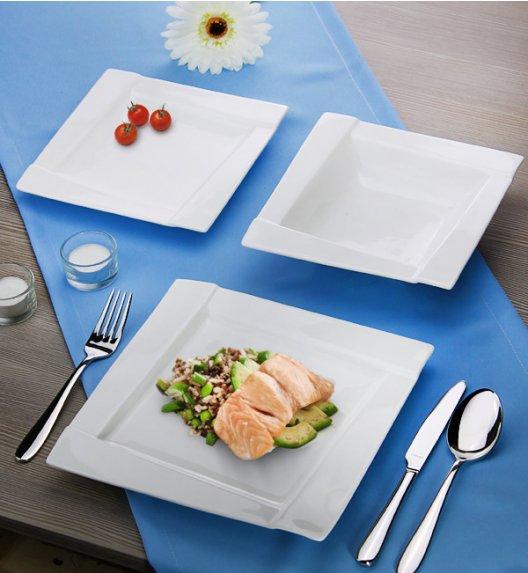 AMBITION KUBIKO Serwis obiadowy 18 elementów dla 6 osób / Porcelana + GRATIS 49 ZŁ / 62369