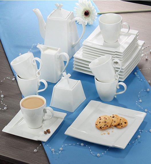 AMBITION KUBIKO Komplet kawowy 23 elementy dla 6 osób / Porcelana + GRATIS 49 ZŁ / 62367