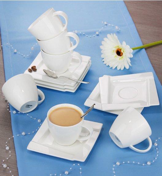AMBITION KUBIKO Komplet kawowy 12 elementów dla 6 osób / Porcelana / 61242