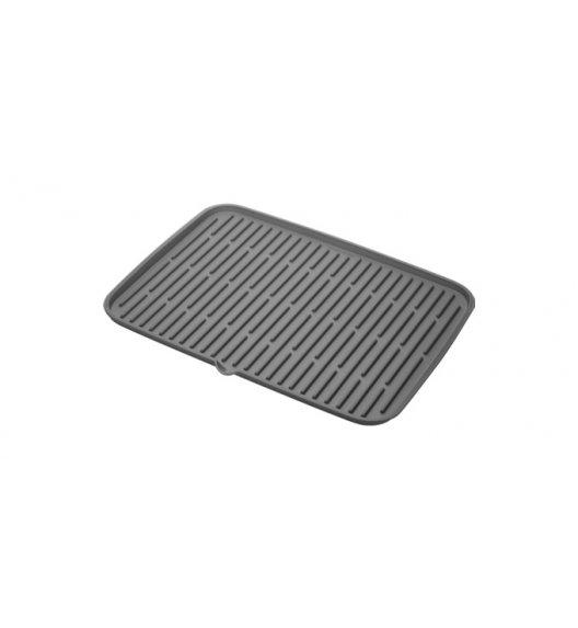 TESCOMA CLEAN KIT Ociekacz silikonowy 42 x 30 cm / szary / ZOBACZ FILM