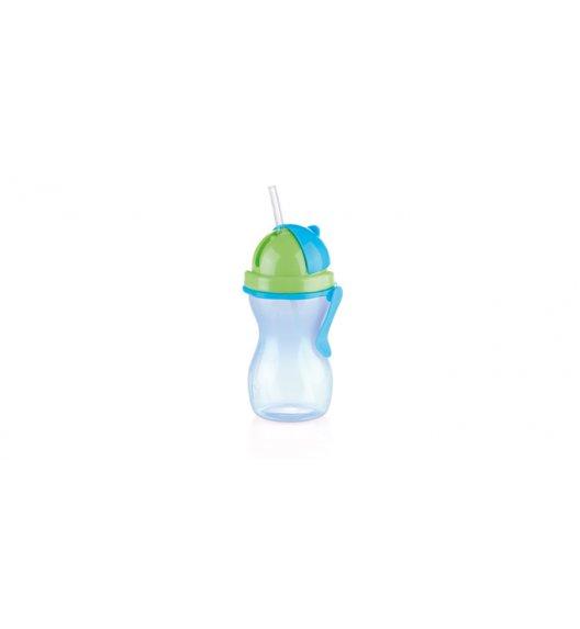 TESCOMA BAMBINI Butelka dziecięca ze słomką 300 ml, zielono - niebieska