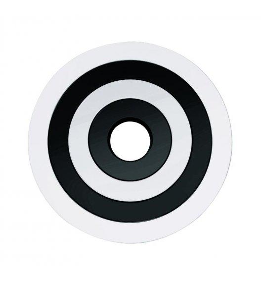 WYPRZEDAŻ! ZAK! DESIGNS Okrągłe podstawki pod naczynia, biało-czarne /Btrzy