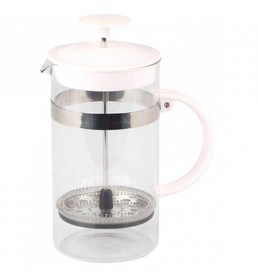 TADAR MODO Dzbanek do kawy 1,0L / Zaparzacz z żaroodpornego szkła BIAŁY