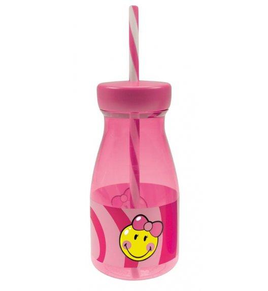 ZAK! DESIGNS Butelka ze słomką dla dziewczynki Smiley Kid / Btrzy