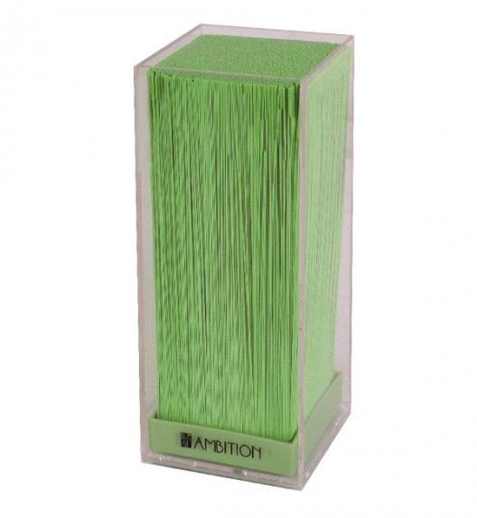 AMBITION VERT Blok na noże z tworzywa sztucznego z zielonym wypełnieniem, 20597