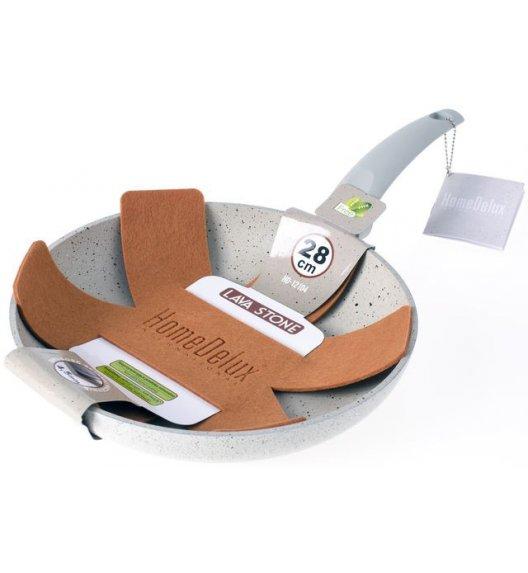 HOMEDELUX HD12104 Patelnia 28 cm + GRATIS / powłoka Non-Stick / DELHAN