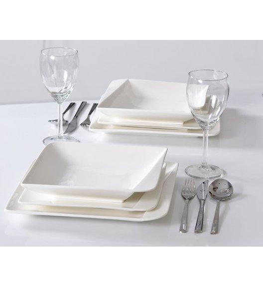 HOME DELUX HD12066 Serwis obiadowy 18 elementów dla 6 osób / Porcelana / DELHAN