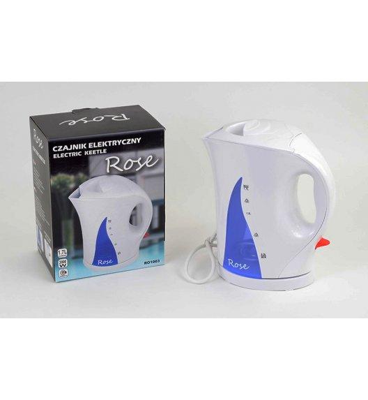 ODELO Czajnik elektryczny ROSE 1,7 l Biały, RO1003