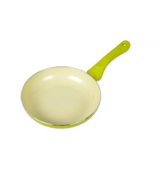 ODELO Patelnia ceramiczna 18 cm INDUKCJA zielona OD1184G