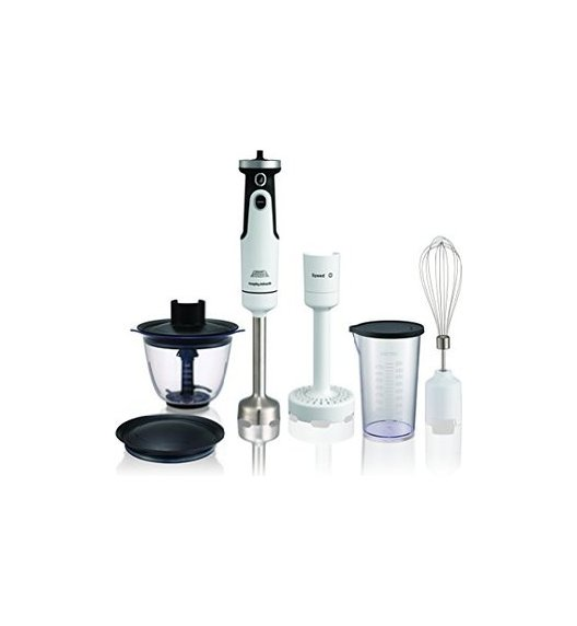 MORPHY RICHARDS Blender ręczny Total Control Pro 650W VIDEO