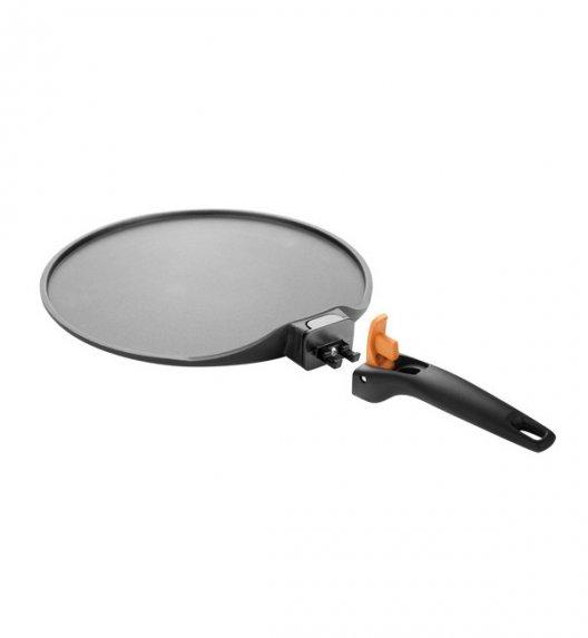 TESCOMA SmartCLICK Patelnia do naleśników 26 cm z odłączaną rączką / powłoka antyadhezyjna VIDEO