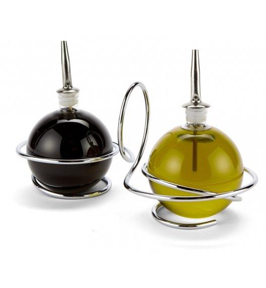 BLACK+BLUM Dozownik do oliwy i octu LOOP ze stali nierdzewnej i szkła / Btrzy