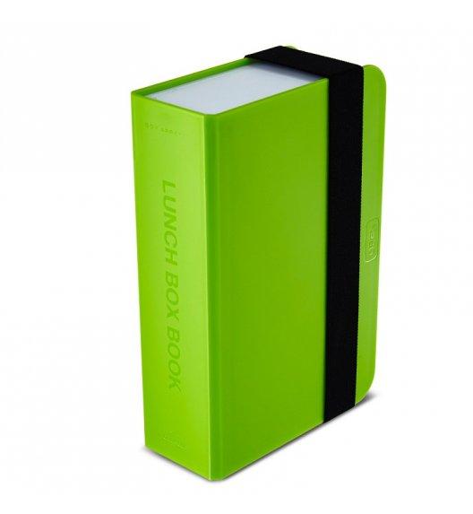 BLACK+BLUM Lunch Box w kształcie książki zielony 400 ml / Btrzy