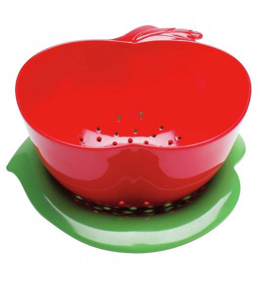ZAK! DESIGNS Durszlak z podstawką, jabłko czerwono - zielone / Btrzy
