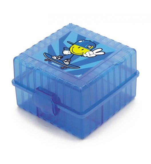 ZAK! DESIGNS Smiley Kid Lunch Box dla chłopczyka, niebieski /Btrzy