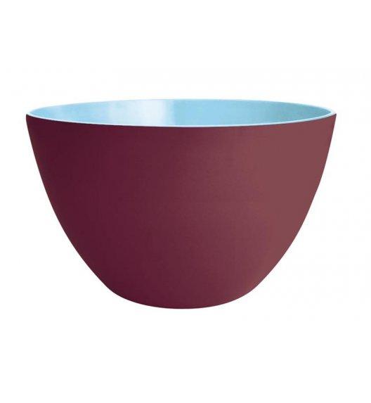 ZAK! DESIGNS Dwukolorowa miska kasztanowo-niebieska, 22 cm / Btrzy