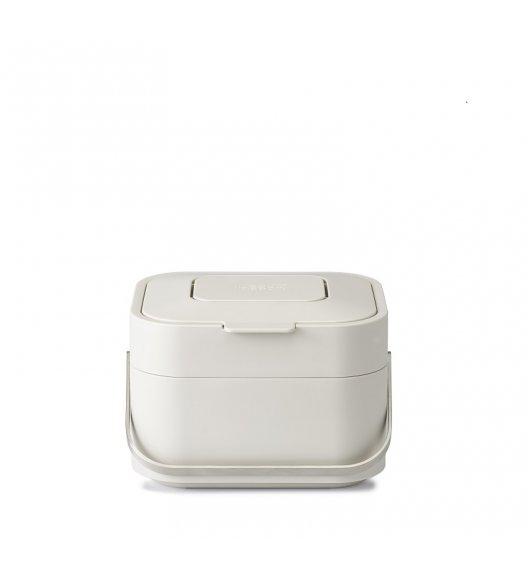 JOSEPH JOSEPH Pojemnik z filtrem na odpady organiczne STACK beżowy / Btrzy