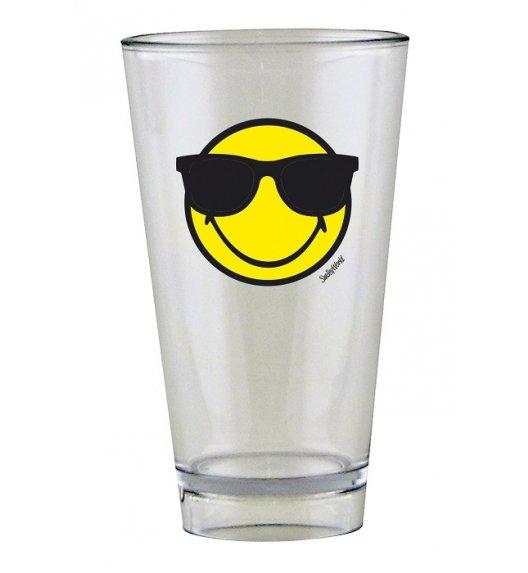 ZAK! DESIGNS Szklanka Smiley, ze znaczkiem SUNGLASSES na zimne napoje, 300 ml / Btrzy
