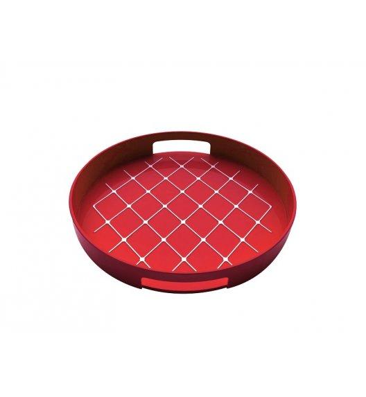 ZAK! DESIGNS Okrągła taca do serwowania, czerwona / Btrzy