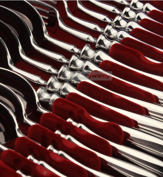Gerlach Retro Sztućce Komplet 72 el (2x24+dodatki) 12 osób / połysk